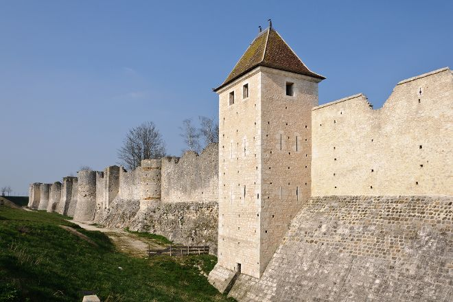 The Saint-Jean's Gate and The Ramparts, Provins, France