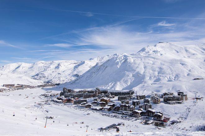Tignes Ski Resort, Tignes, France
