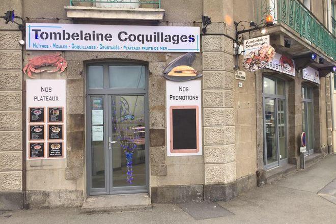 Tombelaine Coquillages, Saint-Malo, France