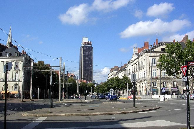Tour Bretagne, Nantes, France