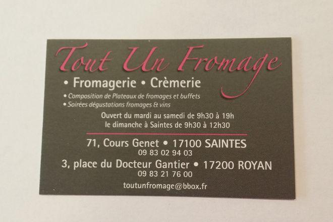 Tout UN Fromage, Saintes, France