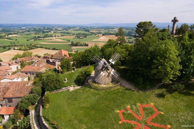 Village Medieval de Lautrec, Lautrec, France