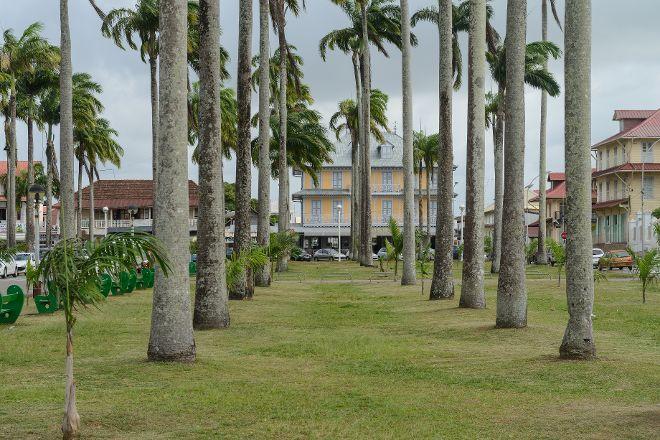 Place des Palmistes, Cayenne, French Guiana