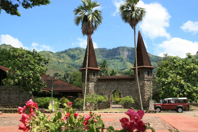 Notre Dame Cathedral, Taiohae, French Polynesia