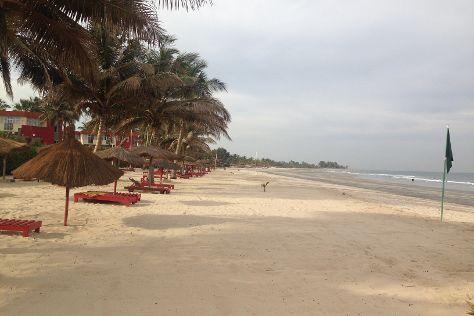 Kotu Beach, Kotu, Gambia
