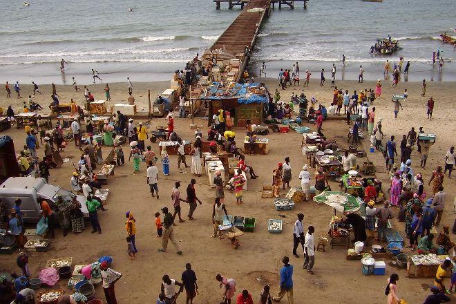 Bakau Fish Market, Bakau, Gambia