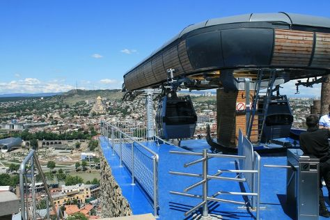 Aerial Tramway in Tbilisi, Tbilisi, Georgia