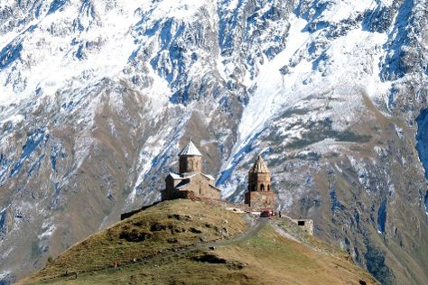 Gergeti Trinity Church, Stepantsminda, Georgia