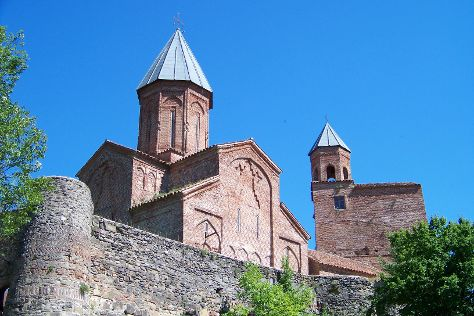 Gremi Citadel and Church of the Archangels, Gremi, Georgia