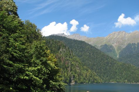 Lake Ritsa, Gagra, Georgia