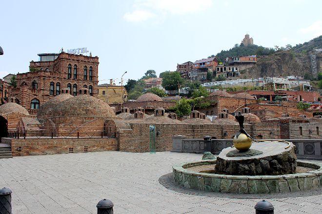 Abanotubani, Tbilisi, Georgia