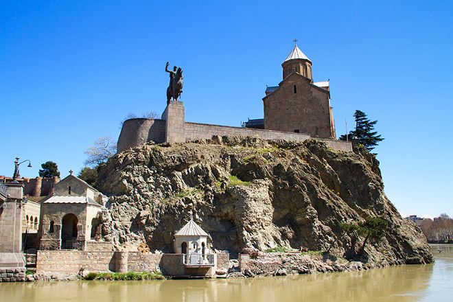 Metekhi Cathedral, Tbilisi, Georgia