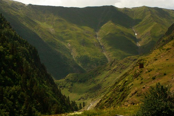 National Park of Tusheti, Omalo, Georgia