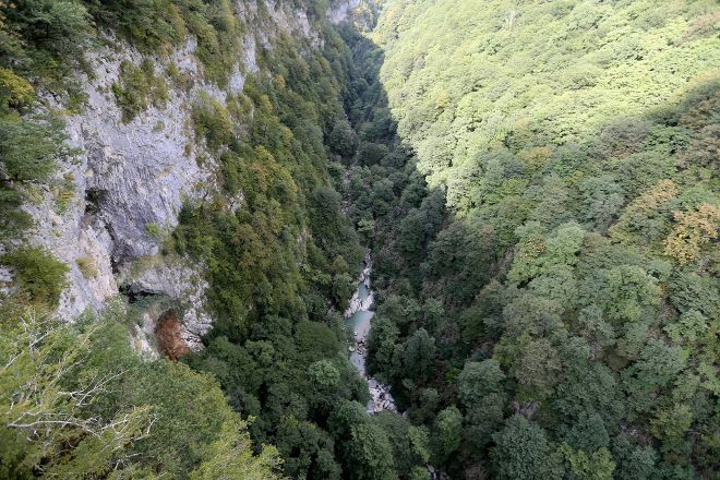 Okatse Canyon, Zeda Gordi, Georgia