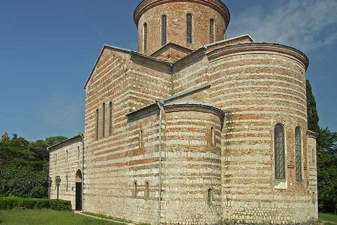 Pitsundsky State Historical and Architectural Reserve Vieliky Pitiunt, Pitsunda, Georgia