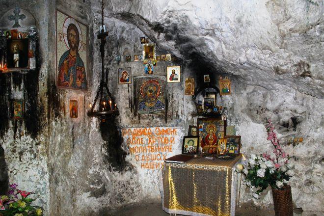 Rock Shalter of Saint Apostle Simon the Zealot, New Athos, Georgia
