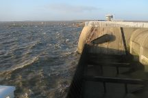 Eider Barrage, Toenning, Germany