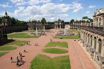 The Dresden Zwinger, Dresden, Germany