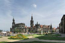 Theaterplatz, Dresden, Germany