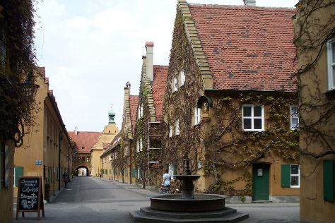 Fuggerei, Augsburg, Germany