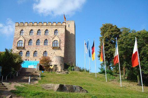 Hambacher Schloss, Neustadt an der Weinstrasse, Germany