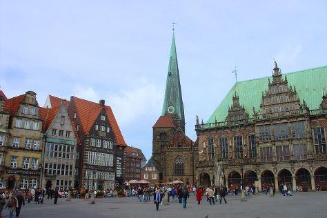 Historische Altstadt, Bremen, Germany
