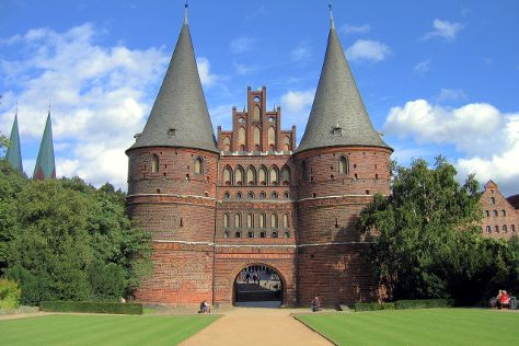 Holstentor, Lubeck, Germany