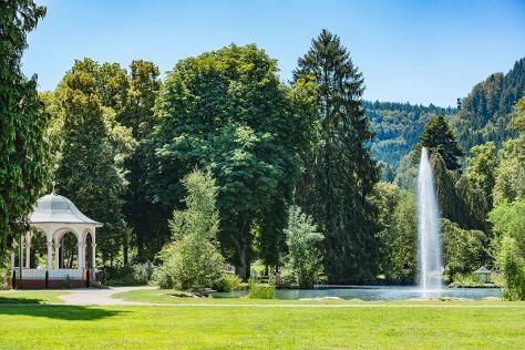 Kurpark, Bad Liebenzell, Germany