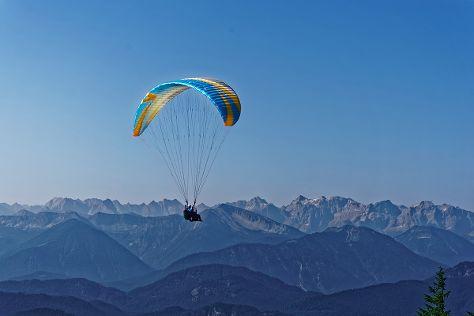 Paraworth Tandem Paragliding, Hohenschwangau, Germany