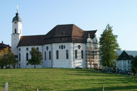 Pilgrimage Church of Wies, Steingaden, Germany