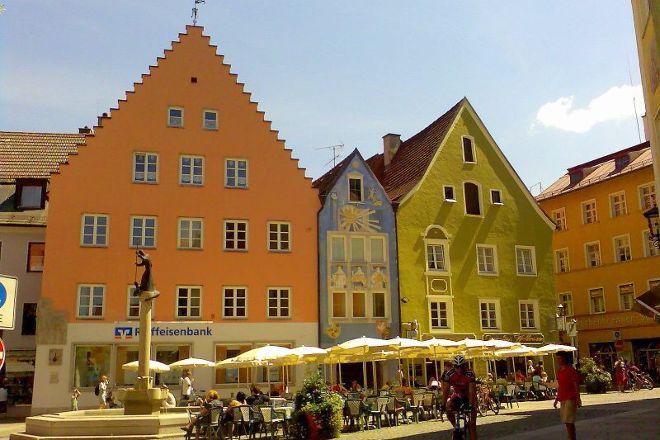 Altstadt von Fuessen, Fussen, Germany