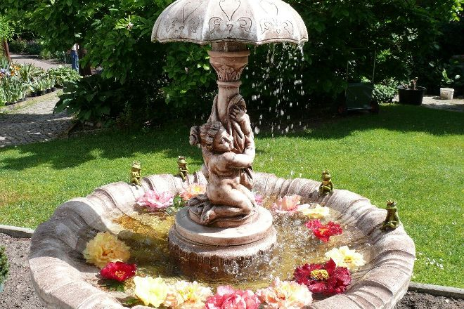 Botanischer Garten Christiansberg, Luckow, Germany
