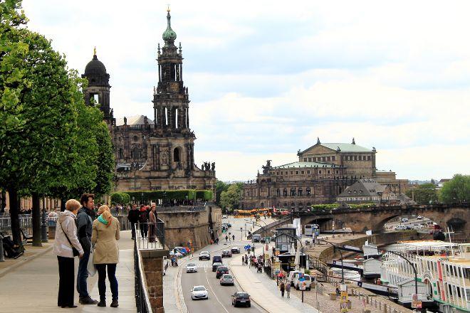 Bruehlsche Terrasse, Dresden, Germany