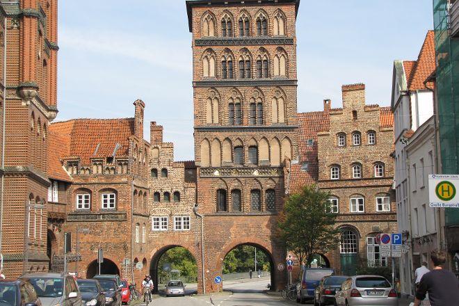 Burgtor-Befestigungsanlage Lubeck, Lubeck, Germany
