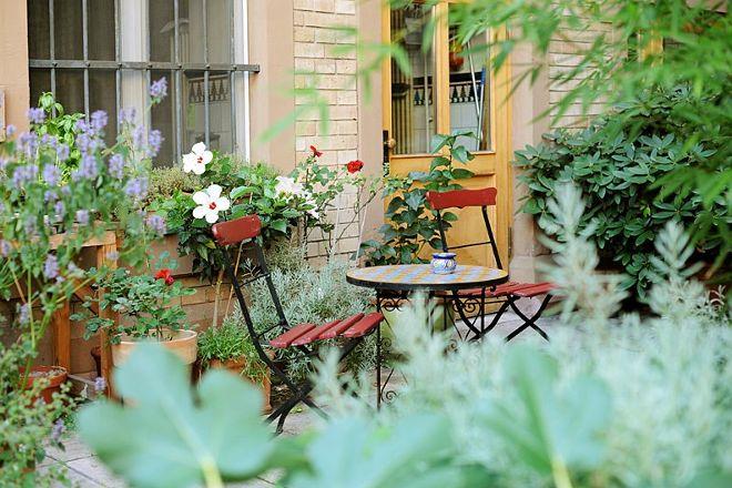 Dachgarten im Hotel Nizza, Frankfurt, Germany