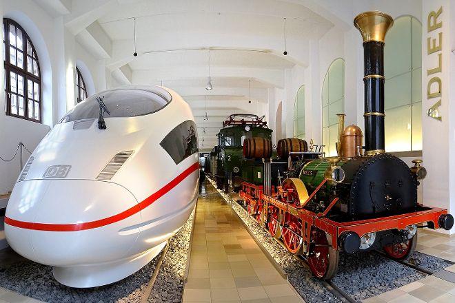 DB Museum (German Railway Museum), Nuremberg, Germany