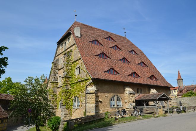 Die Rossmuhle, Rothenburg, Germany