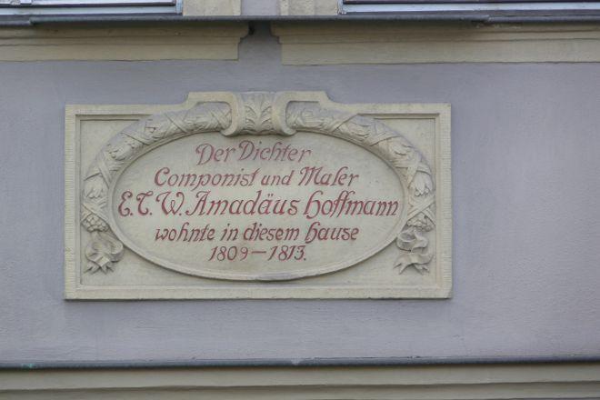 E. T. A. Hoffmann Haus, Bamberg, Germany