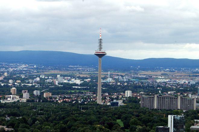 Europaturm., Frankfurt, Germany