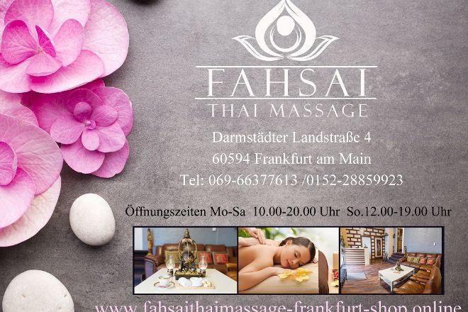 Fahsai Thai Massage, Frankfurt, Germany
