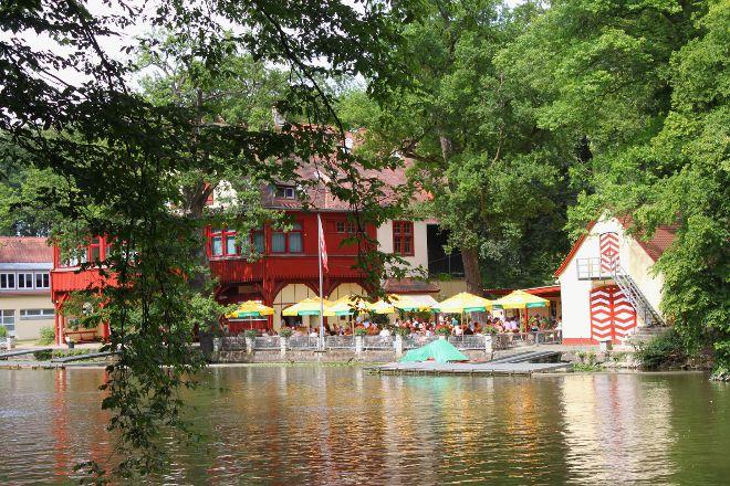Flussbad Hainbadestelle, Bamberg, Germany