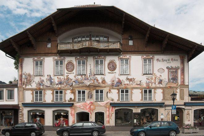 Geburtshaus von Ludwig Thoma, Oberammergau, Germany