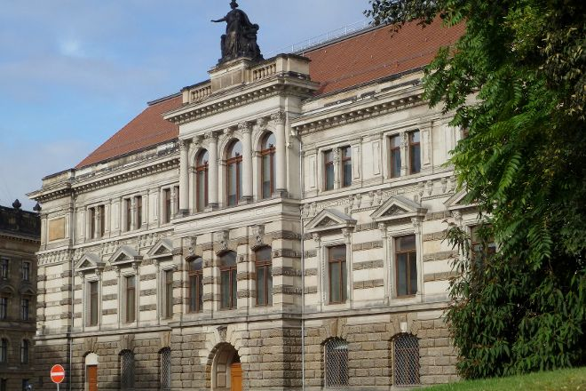 Gemaldegalerie Neue Meister, Dresden, Germany