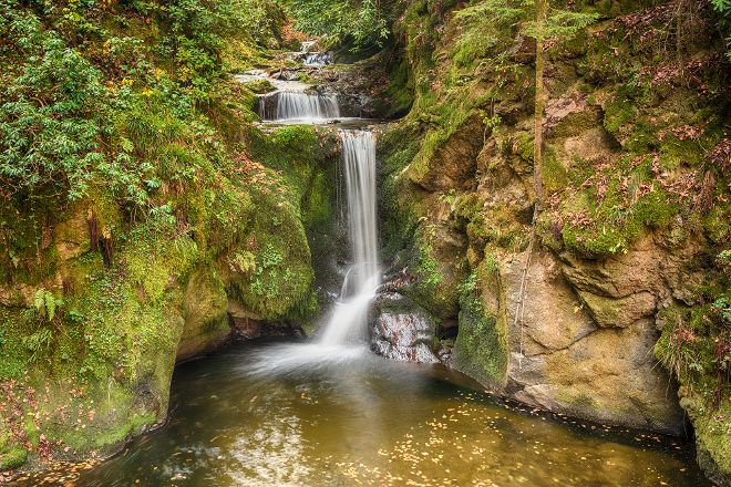 Geroldsau Waterfall, Baden-Baden, Germany