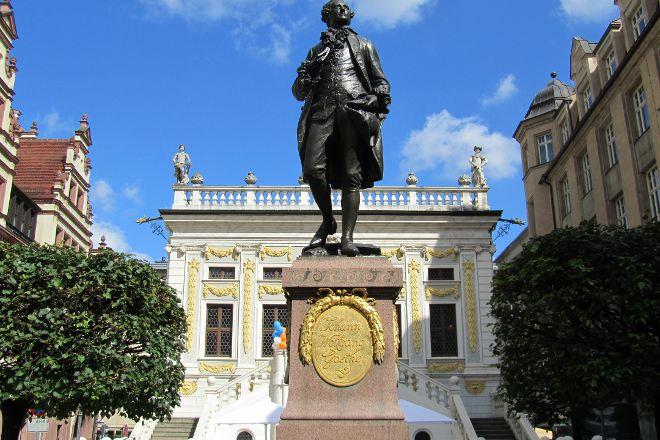 Goethe Memorial, Leipzig, Germany