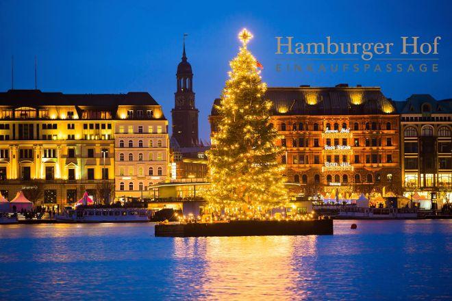 Hamburger Hof Einkaufspassage, Hamburg, Germany