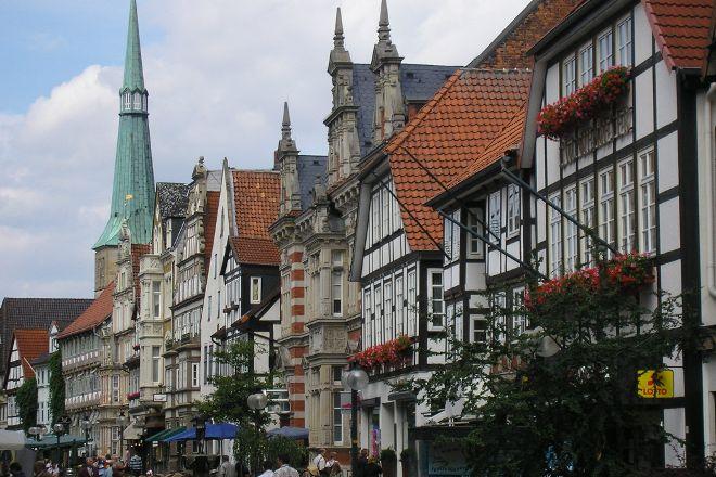 Hameln Old Town, Hameln, Germany