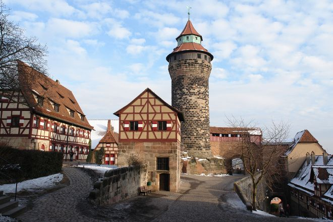 Kaiserburg Nurnberg, Nuremberg, Germany
