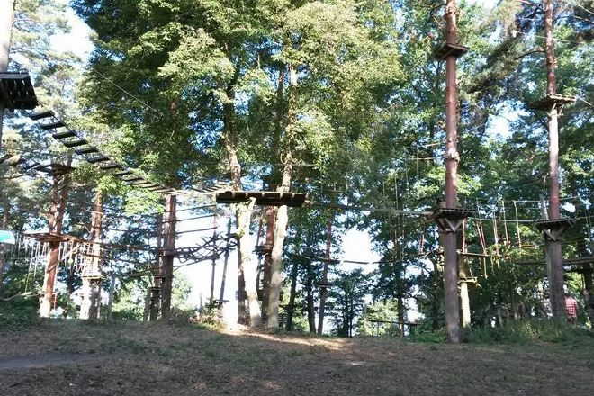 Kletterwald am See, Schweinfurt, Germany