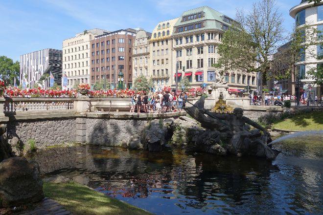 Konigsallee, Dusseldorf, Germany